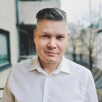 Vår ansatt Dan Pedersen