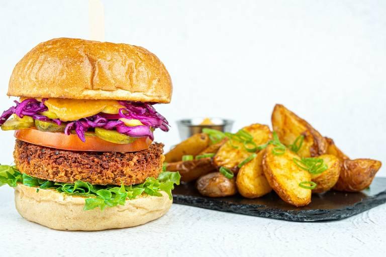 Forsidebilde for belønningen Smakseksplosjon av en burger